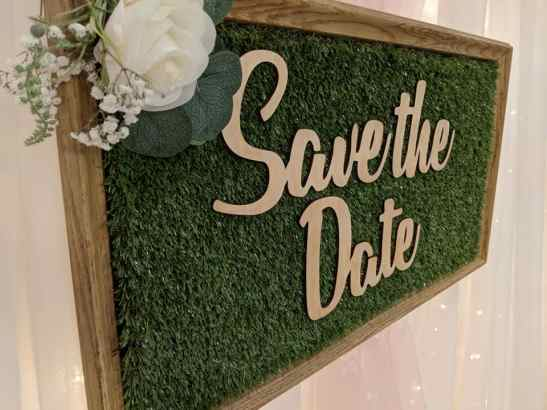 Save the Date Events & Decor