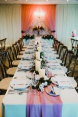 long table wedding decor at cambridge butterfly