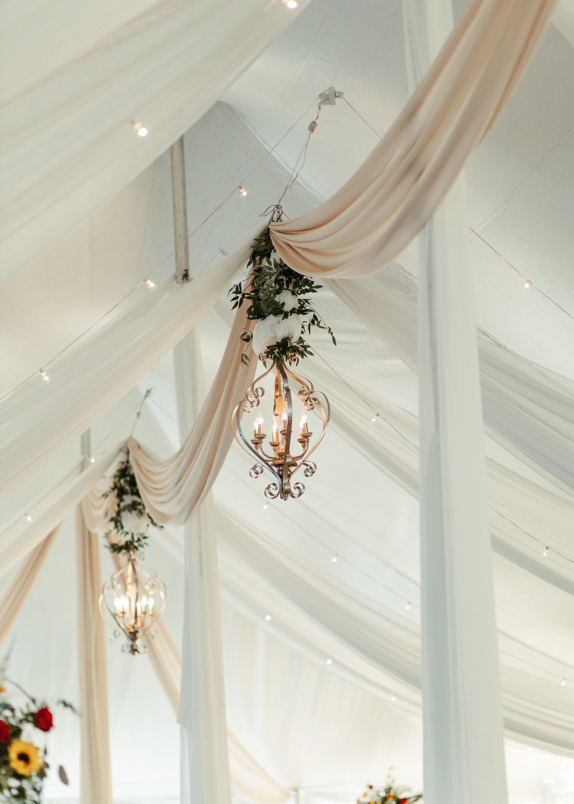 Wedding Ceiling decor devine wedding design