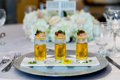Catering: B-Elegant Catering & Events | Venue: Cambridge Hotel & Conference Centre | Photo: Gary Evans Photography