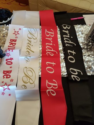 Expo Boutique Sashes