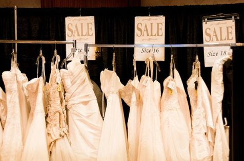 Gown Sale at The Ring's K-W Wedding Expo