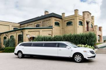 Brentwood Livery White Limousine