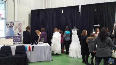 Bridal Boutique at the Paris Fall 16 Wedding Expo