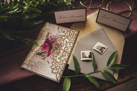 Red Bicycle Paper Co.   Photo: Ema Wedding Co.