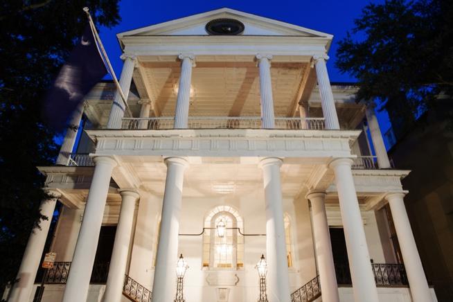 The Wedding Row  Kathleen  Benot The Confederate Home  South Carolina Society Hall