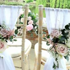 Wedding Chair Covers And Bows South Wales Pod Hanging Decorations In Buckinghamshire