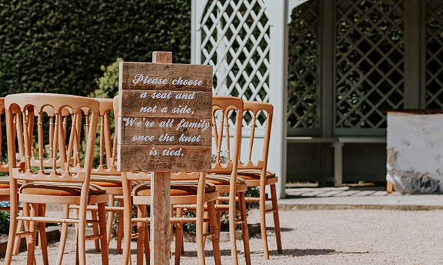 wedding decorations in london