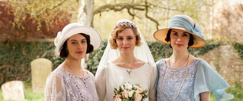 Downton Abbey Themed Wedding Dress Inspiration