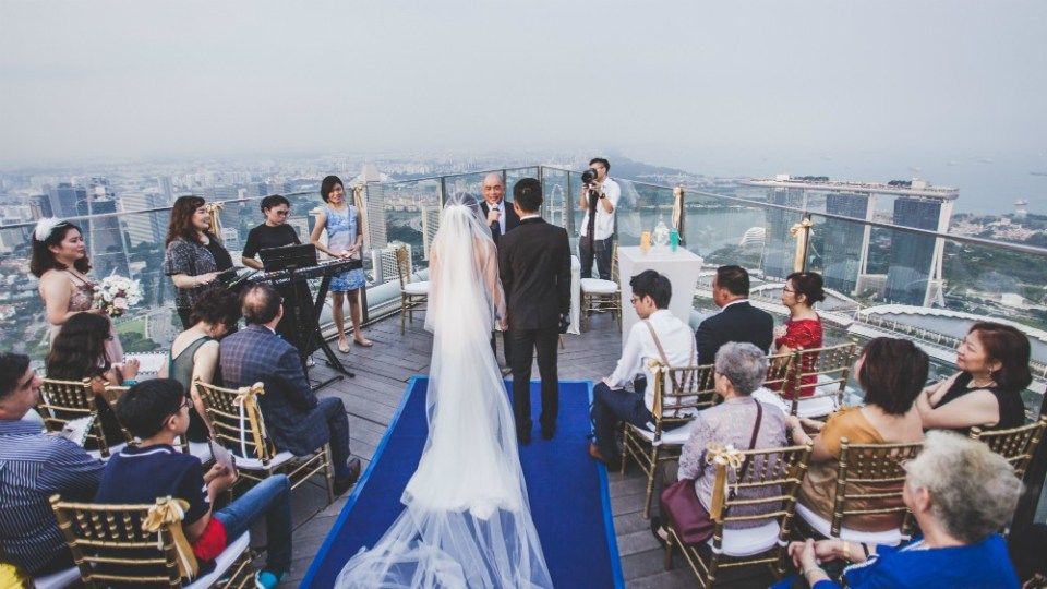 1 Altitude Unique Wedding Venues Singapore