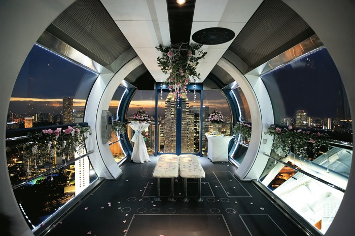 Singapore Flyer Wedding Venues