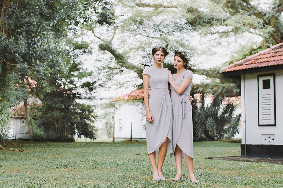 Love & Bravery Bridesmaid Dresses Singapore