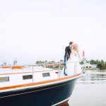 A Luxury Yacht Wedding by White Sails