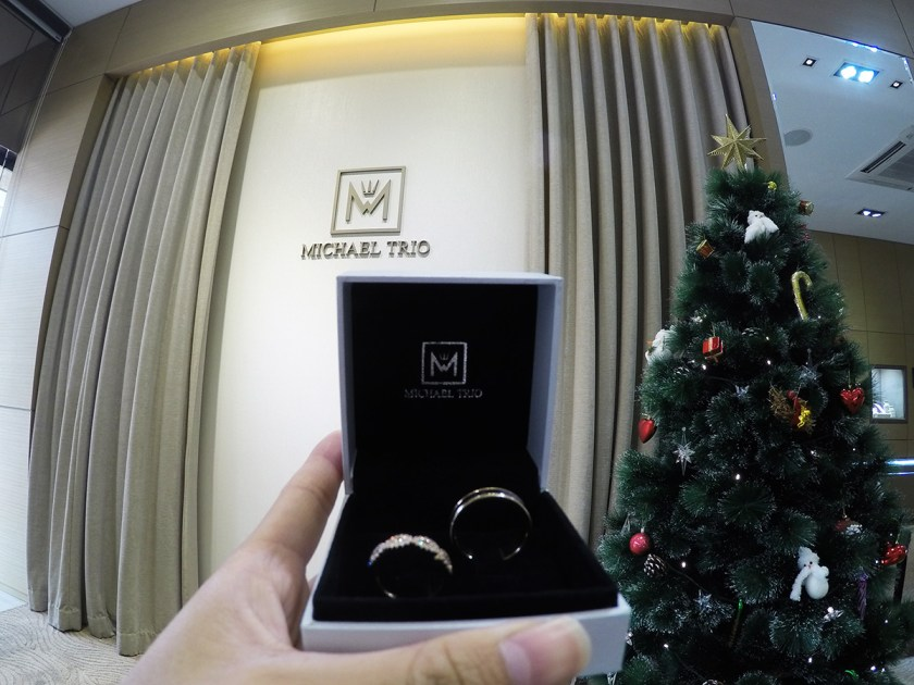 Michael Trio Engagement Rings Singapore 6