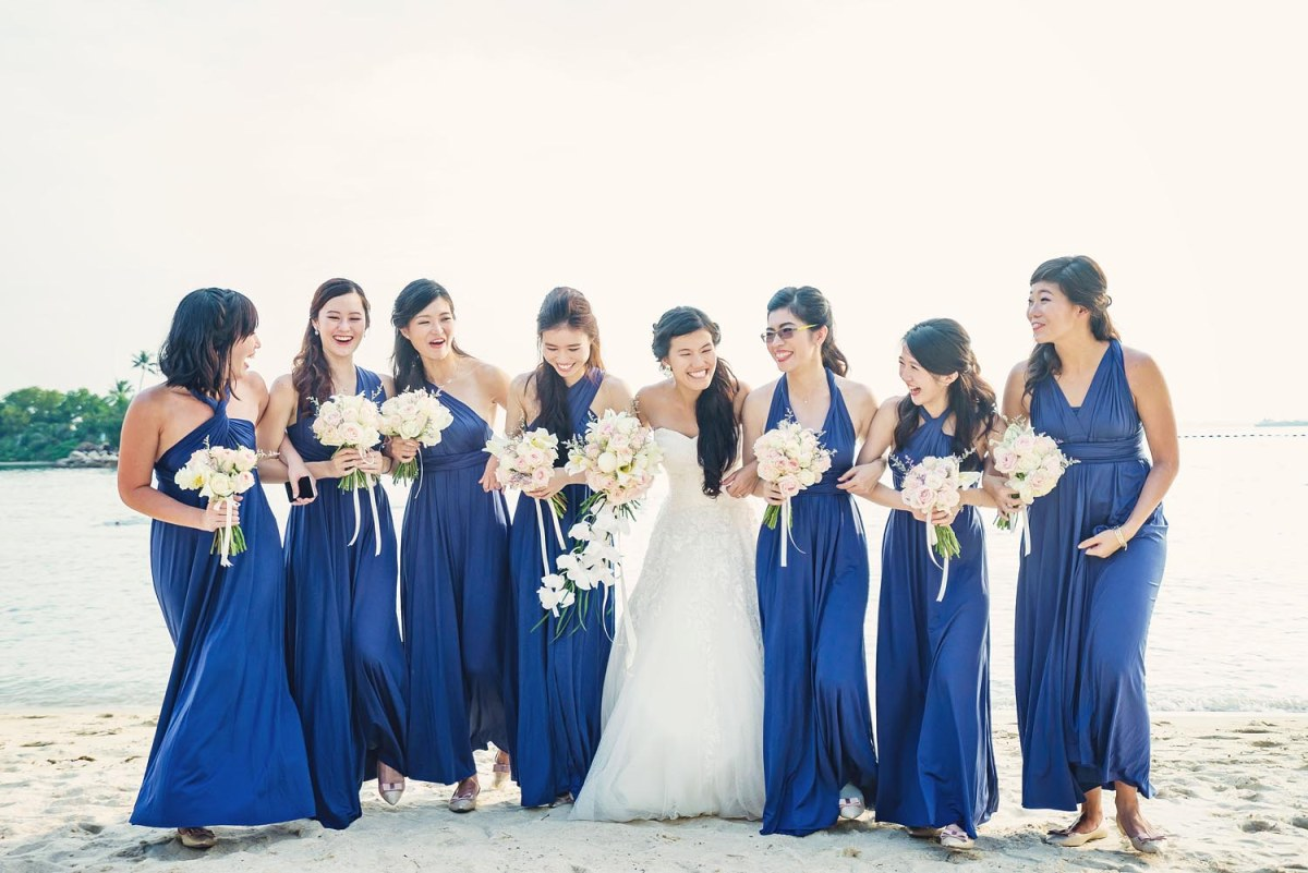 A Talented Entourage Of Wedding Hair & Makeup Stylists By