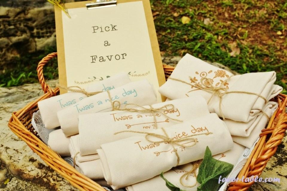 Favor Table Wedding Favours Singapore