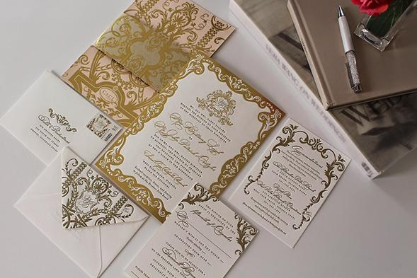 (8) Luxe Wedding Cards