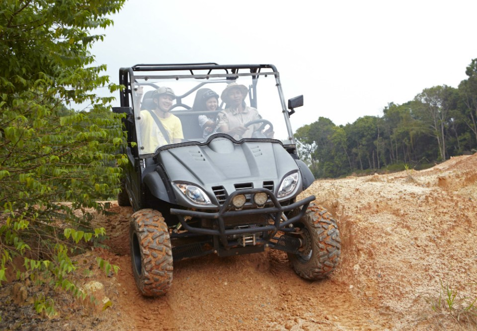 Treasure Bay Bintan UTV Vehicle Dominator 2