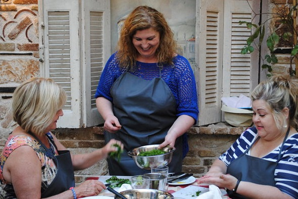athens-honeymoon-greek-cooking-lonely-planet