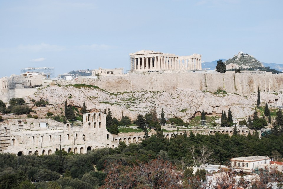 View from Filopappou Hill   Photo by My Greece My Travels