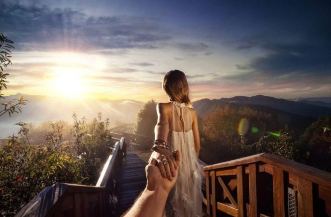 Taiwan Honeymoon Alishan Sunrise