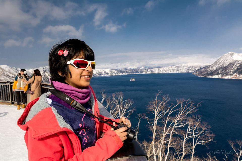 Hokkaido Honeymoon - Lake Mashu - Viki Pandit