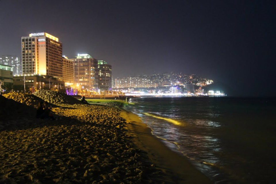 KoreaHoneymoon-Haeundae-Panoramio