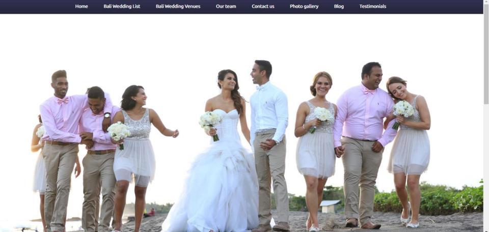 Photo via Bali Exclusive Wedding