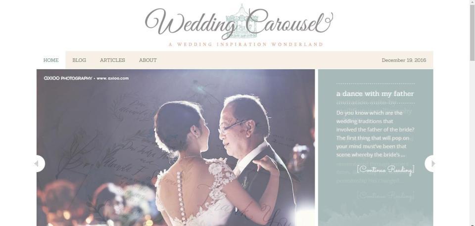 Photo via Wedding Carousel