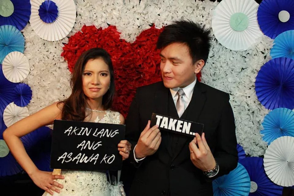 wedding photo booth philippines - Lightside Photobooth
