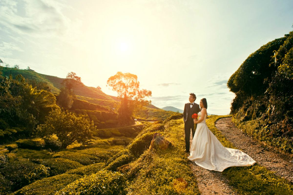 Top 10 pre wedding photoshoot locations in malaysia the for Top 10 wedding sites