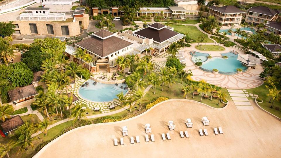 philippine honeymoon Misibis Bay Resort