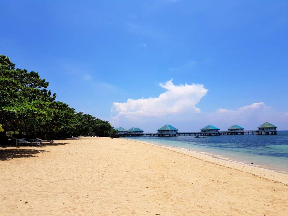 philippine honeymoon Stilts Calatagan Beach Resort
