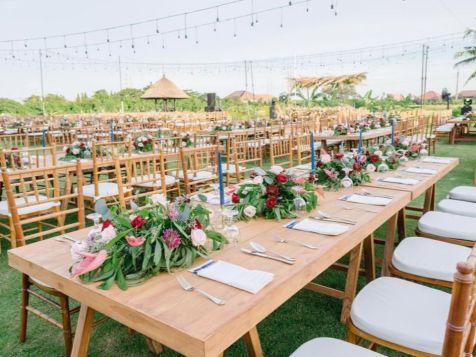 the samata sanur wedding decorations
