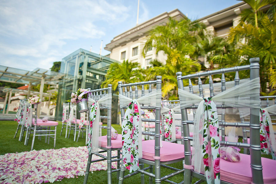 Hotel Fort Canning wedding