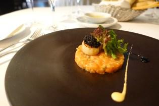 The Avruga Caviar with Salmon Tartare