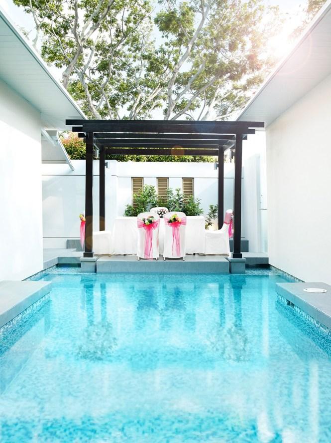 Amara Sanctuary Resort Sentosa Wedding - Villa