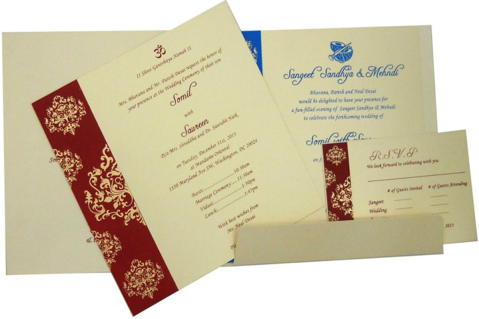 Top 10 Places To Get Your Wedding Cards In India The