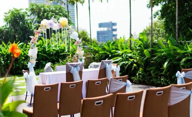 Top 10 Garden Wedding Venues in Singapore - Ramada Hotel at Zhongshan Park