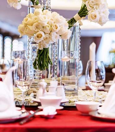 Renaissance johor bahru classy hotel banquet weddings at a up for a wedding day we were so impressed by the beautiful floral centerpieces that their decor team crafted the vip table setting was a grand setup junglespirit