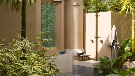 Outdoor Shower of the Pool Villa