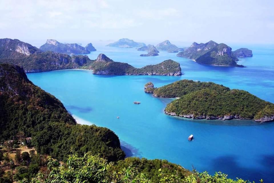 Tongsai Bay Koh Samui Honeymoon Ang Thong National Marine Park