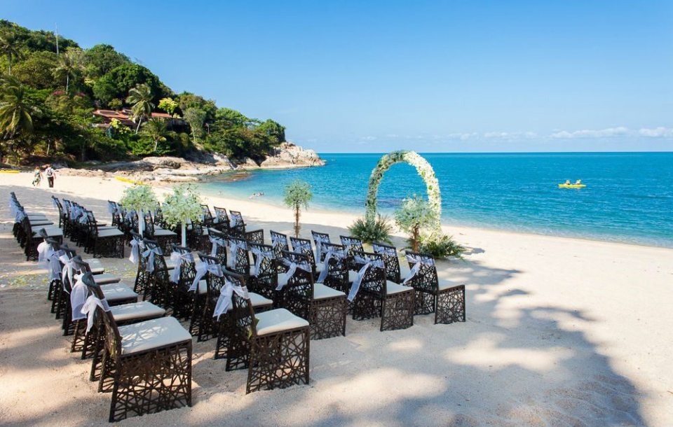 Tongsai Bay Koh Samui Wedding Private Beach Bay