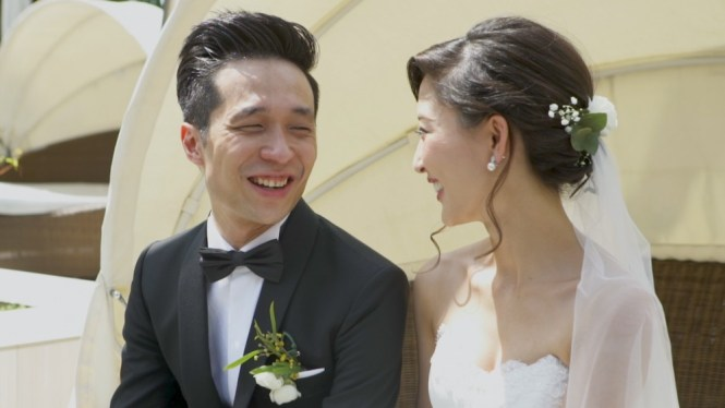 wedding videographers singapore unveil production
