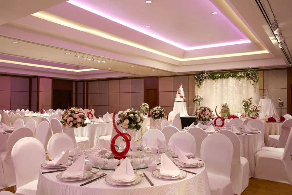 Holiday Inn Singapore Atrium wedding venues singapore