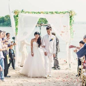 Sentosa Wedding Venues Singapore Tanjong Beach Club