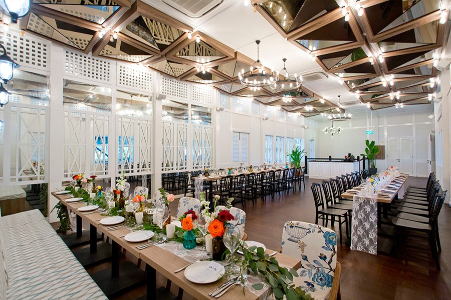 Summerhouse wedding venues singapore