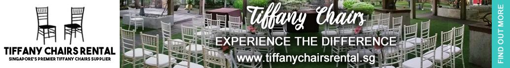 Tiffany Chairs Rental Banner