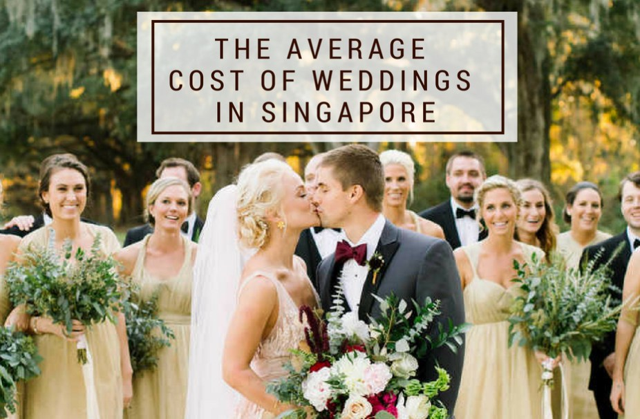 The Average Cost Of Weddings In Singapore Saving Tips 2018 Edition