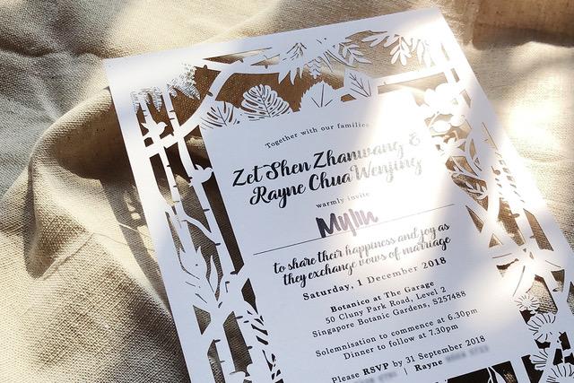 wedding invitations singapore